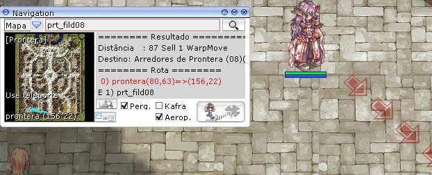 Localização na interface do jogo